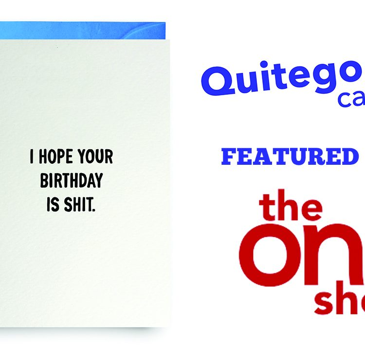 Our card featured on 'The One Show'